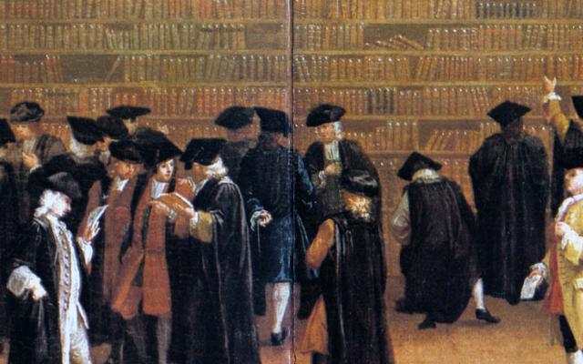 An Oxford book auction, 1747
