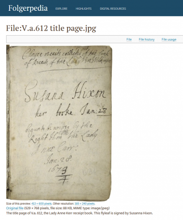 Early Modern Manuscripts Online